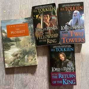 3FOR$12 LOTR BOOK SET (includes The Hobbit)